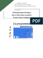 La Programmation en Mikropascal