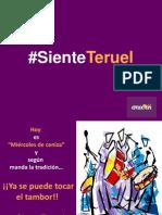 Ruta del Tambor y Bombo #SienteTeruel