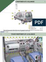 Peugeot Partner Owners Manual 2003