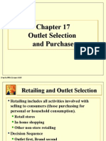 17-Outlet Selection & Purchase