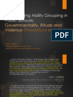 Sociologizing Ability Grouping in Public Schools