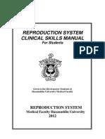 Student Manual for Reproduksi 2012