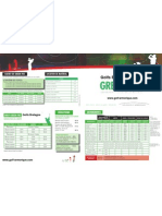 Tarifs Green Fees Golf Bretagne