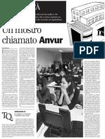 Un mostro chiamato Anvur. L'agenzia per la valutazione centrata su criteri quantitativi e produttivistici - il Manifesto 13.02.2013