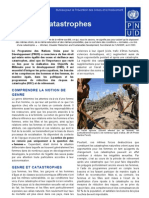 Reduction Des Risques de Catastrophe Et Relevement - Genre (1)