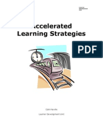 Teach Yourself Accelerated Learning