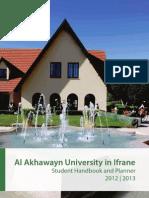 Student Handbook2012 2013