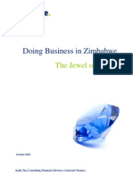 Doing Business in Zimbabwe - October 2009.pdf
