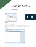 Utilización de Access