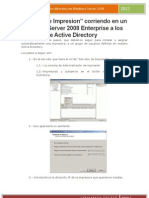 Servidor de Impresion Para Active Directory en Windows Server 2008
