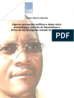 Maunde Pedro_Algumas percepções políticas e dados sócio-económicos e culturais de Moçambique e África do Sul na segunda metade do século XX