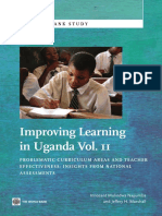 Improving Learning In Uganda, Vol. II