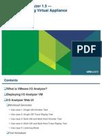 Vmware Io Analyzer Tutorial-V1.5