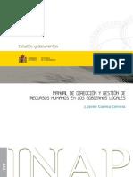 Manual de direccion de recursos humanos en el sector público