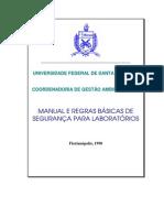 Manual .de segurança em laboratórios