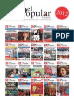 El Popular 2012 Anuario