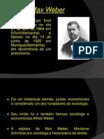 Max Weber Slide