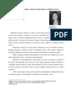 Constrîngerea fizică sau psihică. Elena Dragan