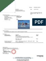 EN71 Certificate of Fangcun