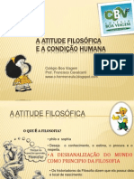 A Atitude Filosófica e a Condição Humana.ppt