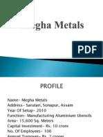 Megha Metals- aluminium industry