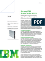 IBM BladeCenter HS23