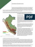 Agua y Minería para la Agenda del Gobierno del Presidente Humala