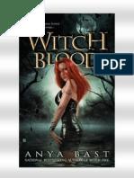 Anya Bast- Serie Brujas Elementales- 3º Sangre de Bruja