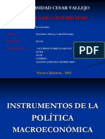 Economia-politica Fiscal y Monetaria