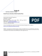 Nadel,Social Control and Self Regulation S.F. - Social Control and Self Regulation