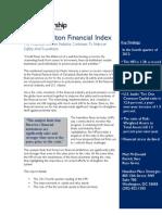 Hamilton Financial Index, February 2013