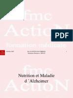 3 Nutrition et Maladie d'Alzheimer