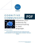 Cognitive Communication