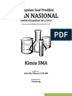Kumpulan Soal Prediksi Per SKL UN Kimia SMA