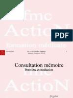 5. Consultation mémoire