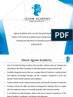1-Jigsaw Academy Foundation Analytics