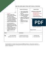 Stickers de Evaluacion Para Riesgo de Caries