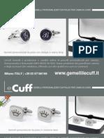 LeCuff, gemelli personalizzati per camicia, fermacravatte e fermasoldi, produzione e vendita online