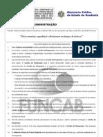 Funcab 2012 Mpe Ro Analista Administracao Prova