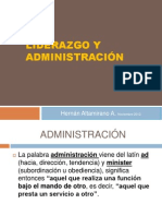 LIDERAZGO Y ADMINISTRACIÓN.ppt