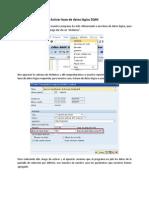 Activar base de datos lógica ZQMI