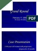 Grand round for PDF