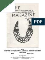 Kintyre Magazine - 01 - April 1977