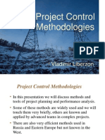 Project Control Methodologies