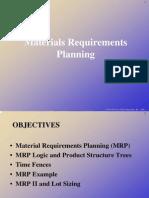 Planeacion de Requerimientos de Los Materiales