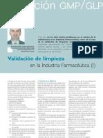 Articulo Validacion de Limpieza en La Industria Farmaceutica (i) Www.farmaindustrial.com