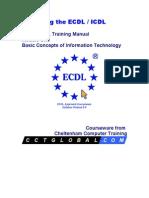 Ecdl Manual Module 1