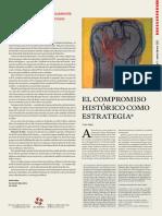 Cuadernos del Pensamiento Crítico Latinoamericano Nº50  El compromiso histórico como estrategia