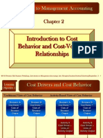 Introduction to Cost Behavior and Cost-Volume Relationships (horngrenima14e_ch02).ppt
