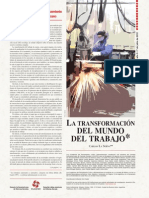 Cuadernos del Pensamiento Crítico Latinoamericano Nº54   La transformación del mundo del trabajo